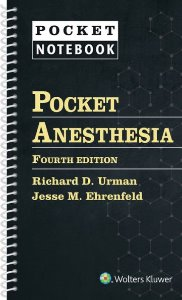Pocket Anesthesia,4/e