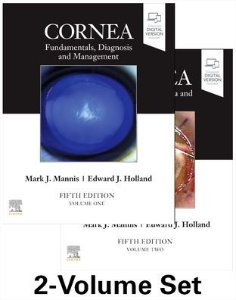 Cornea 2-Volume Set,5/e