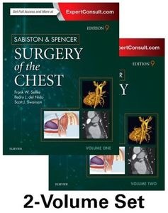Sabiston and Spencer Surgery of the Chest (2 Vols)